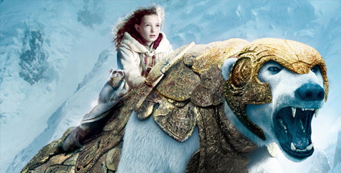The Golden Compass - Lyra Belacqua and Iorek Byrnison