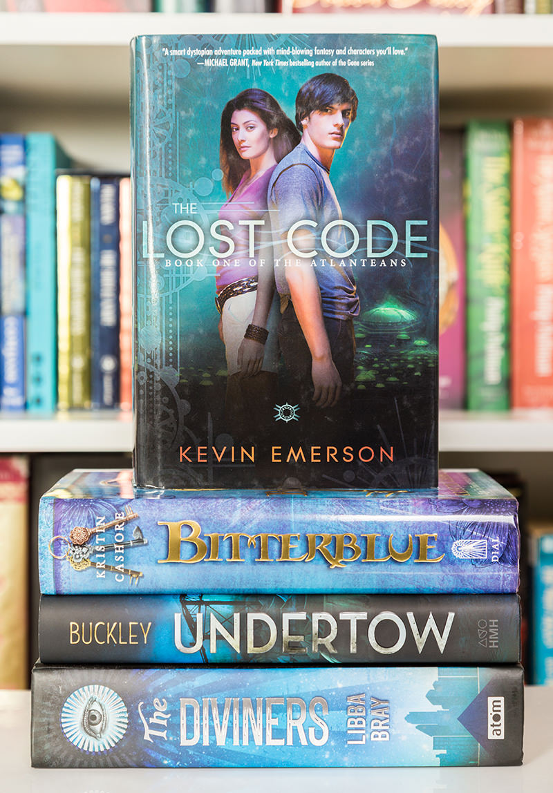 The Lost Code by Kevin Emerson hardcover