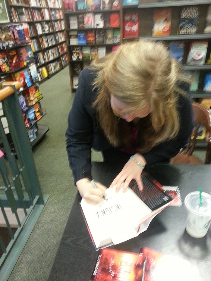 S.J. Kincaid signing Insignia