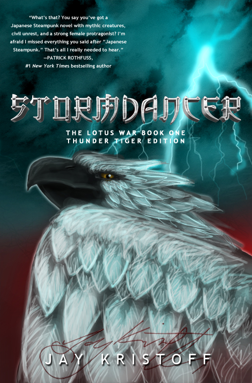 Stormdancer by Jay Kristoff Thunder Tiger Edition Fan Art
