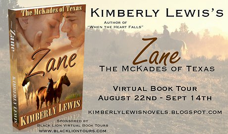 Zane: The McKades of Texas by Kimberly Lewis - Book Tour