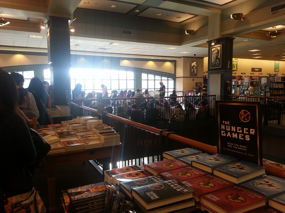 Dark Days Book Tour - View From Line