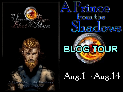 A Prince from the Shadows by J.Curtis Mace - Blog Tour