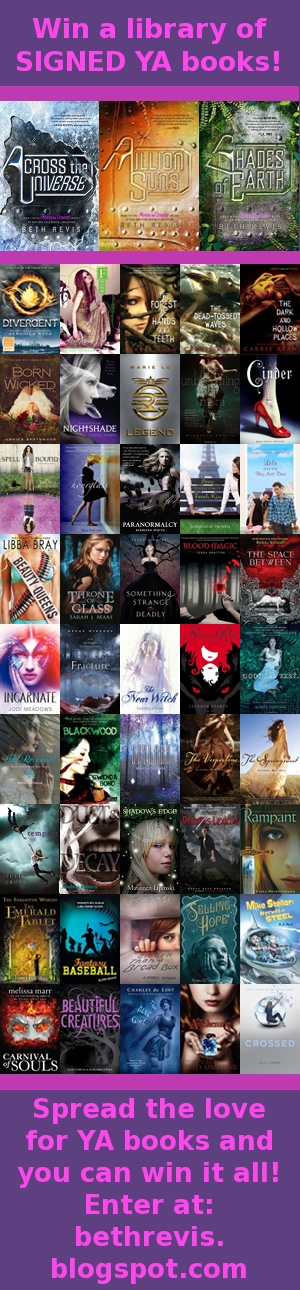 Celebrate books and win a library of signed YA