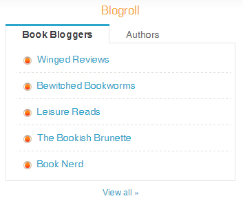 WordPress Blogroll Widget