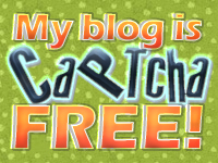My blog is CAPTCHA free