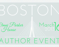 Boston Author Event – Free Book Signing and Meet-Up