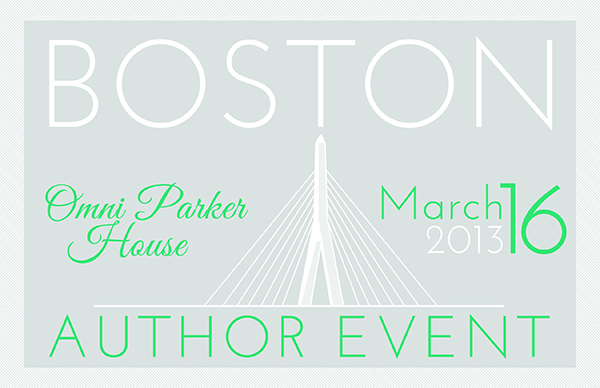 Boston Author Event