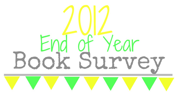 End of Year Book Survey - 2012