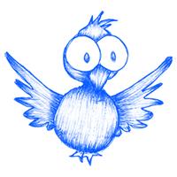 Surprised Twitter Bird