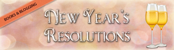 Book Blogging New Year's Resolutions – 2013