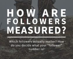 How are Followers Measured?  And What the Heck is RSS?