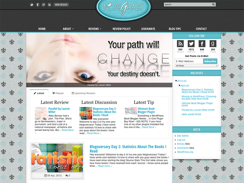 Nose Graze WordPress Theme