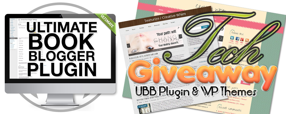 Ultimate Book Blogger Plugin & WP Theme Giveaway