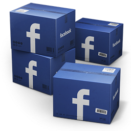 Facebook Shipping Boxes