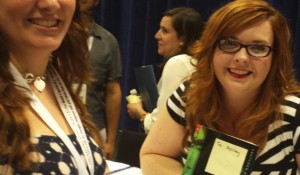 BookExpo America - Gretchen McNeil signing 3:59