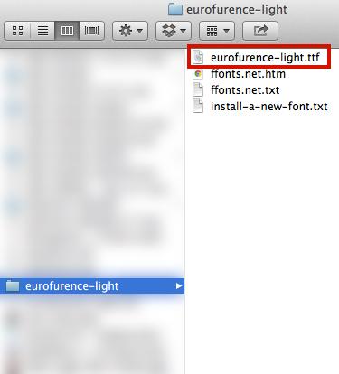 Font .zip File