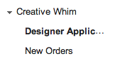 Creative Whim Gmail Labels