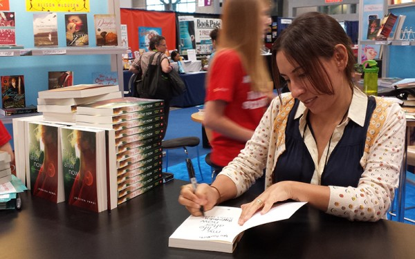 Jessica Verdi at BEA