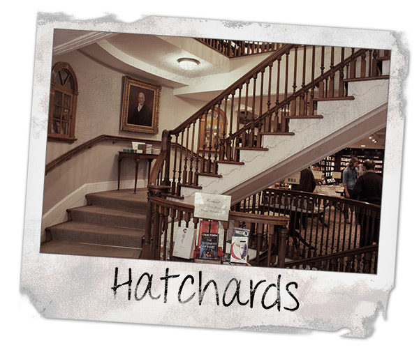 Hatchards Bookstore in London
