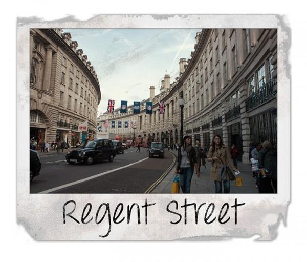 Regeant Street in London