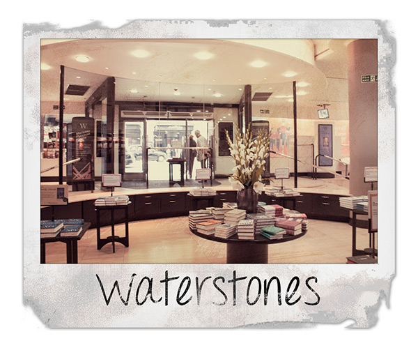 Waterstones Bookstore at Picadilly