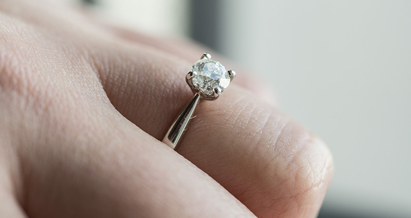 My Diamond Engagement Ring