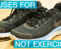 Top 10 Excuses I Make for Not Exercising