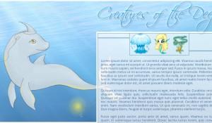 Neopets Design - Creatures of the Deep