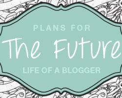 Life of a Blogger: The Past & Plans for the Future