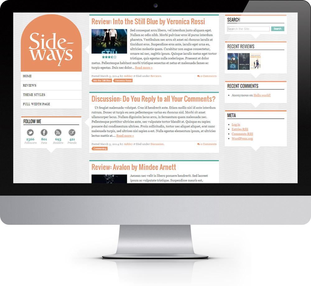 Sideways WordPress Theme