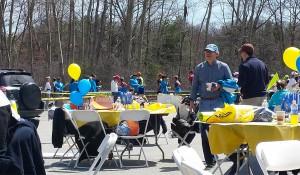 Boston Marathon Tables and Chairs
