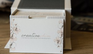 Creative Whim Business Cards