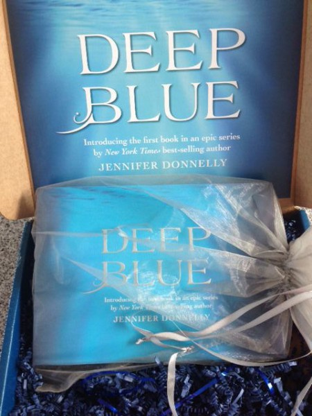 Deep Blue by Jennifer Donnelly Package from Disney
