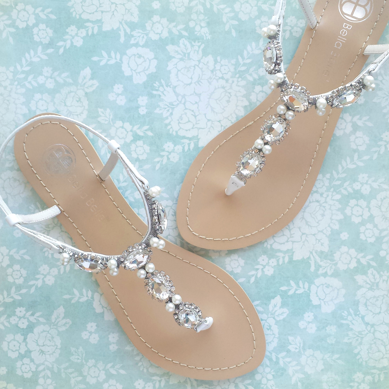 Beach Wedding Shoes 67 New Hera strappy flat shoes