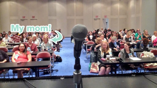 The crowd at the BEA Bloggers Conference