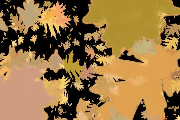 Leaves brushes