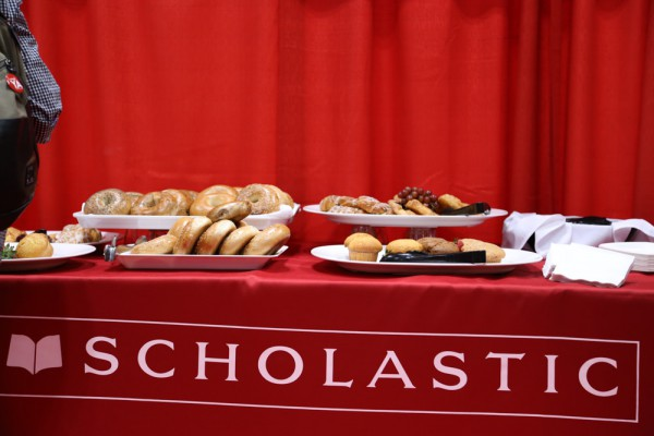Scholastic Backstage Breakfast at BEA