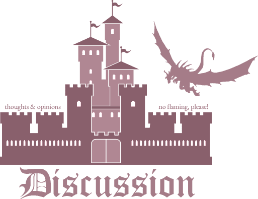 Once Upon a Chapter: Discussion graphic