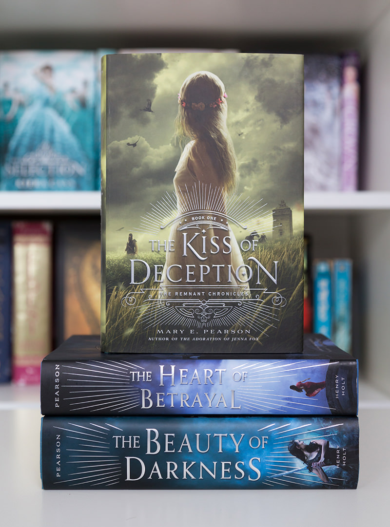 The Kiss of Deception on top of other books in the Remnant Chronicles series