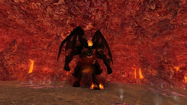 A Balrog of Morgoth in Lord of the Rings Online