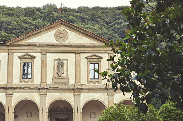 The front of Villa San Michele
