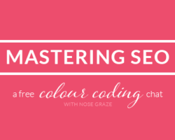 Mastering SEO – Colour Coding Chat Wrap Up