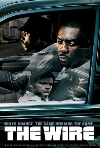 The Wire TV show poster
