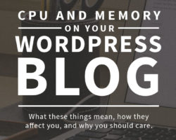 CPU and Memory on your Self Hosted WordPress Blog
