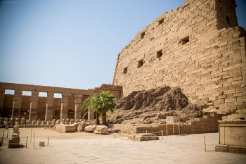 Interior of Karnak
