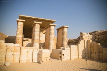Ruins in Sakkara