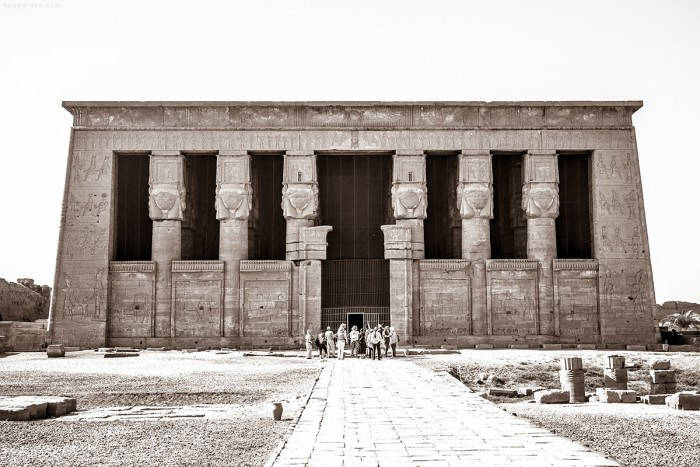 The Temple of Goddess Hathor in Denderah