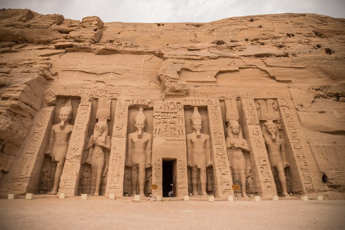 The Temple of Nefertari in Abu Simbel