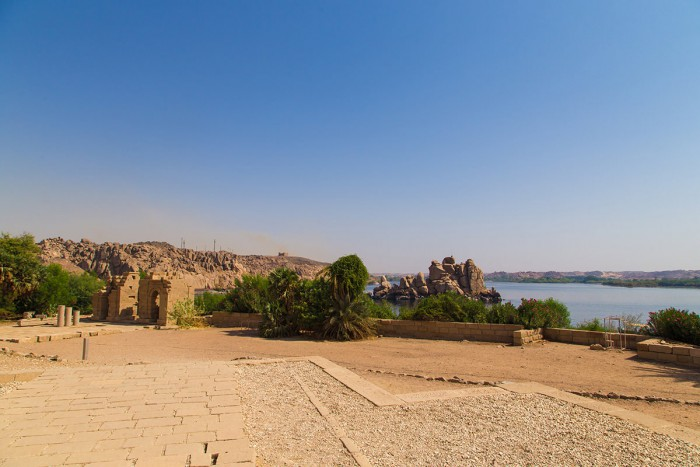 View of the lake from the Philae Temple
